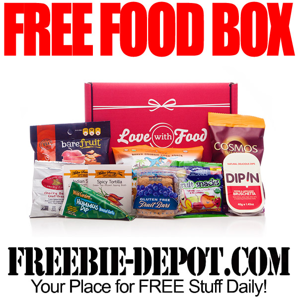 Free Food Box Delivered to your Door!