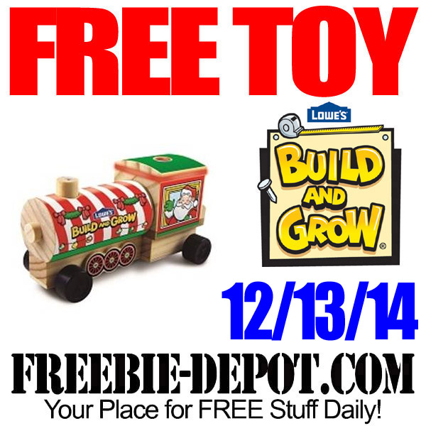 Free Lowes Holiday Train