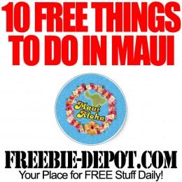 10 FREE Things to do on Maui, Hawaii