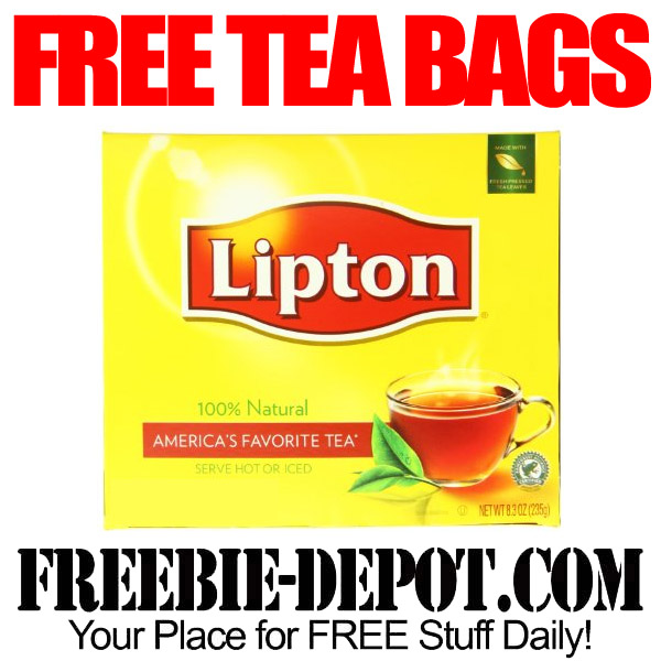 Free Tea from Lipton
