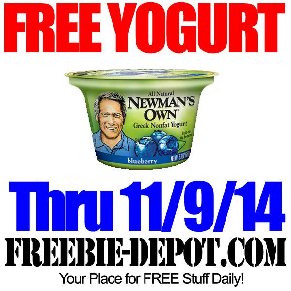 Free Yogurt Newmans