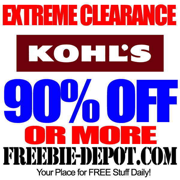 Nearly FREE at Kohl's