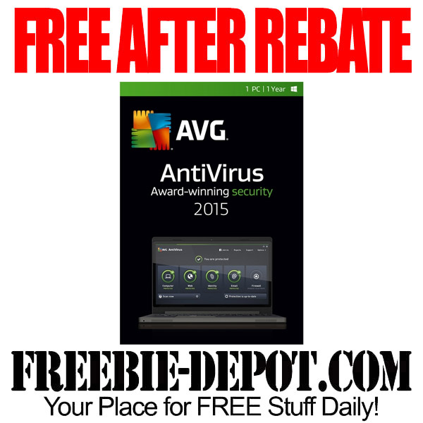 Free After Rebate AVG Anti Virus