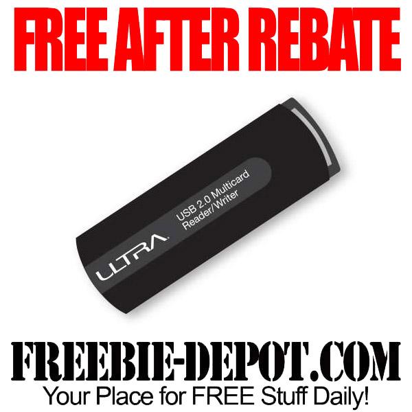 Free After Rebate Card Reader Ultra