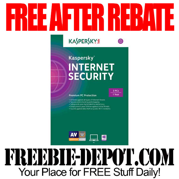 Free After Rebate Internet Kaspersky