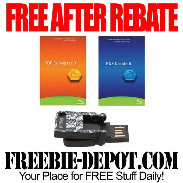 Free After Rebate Nuance Sandisk