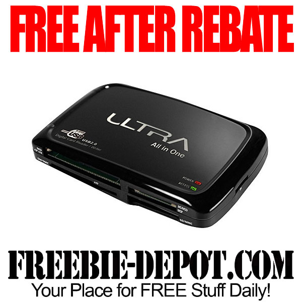 Free After Rebate ULTRA Card Reader