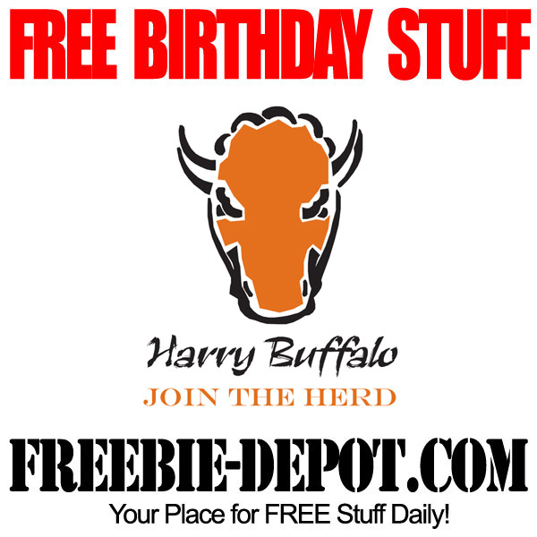Free Birthday Harry Buffalo Appetizer