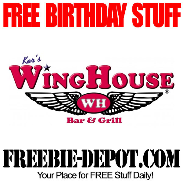 Free Birthday Kers Wing House