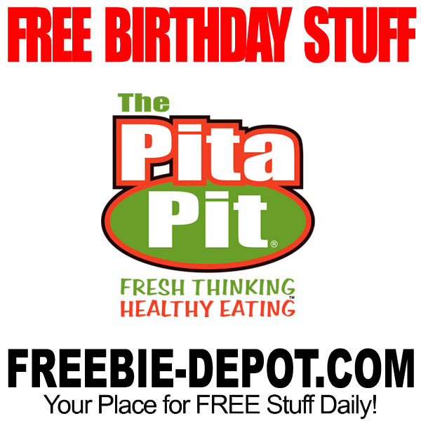 BIRTHDAY FREEBIE – Pita Pit