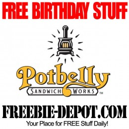 FREE BIRTHDAY STUFF – Potbelly Sandwich Shop – Birthday Freebie Cookie – FREE Cookie on your Birthday
