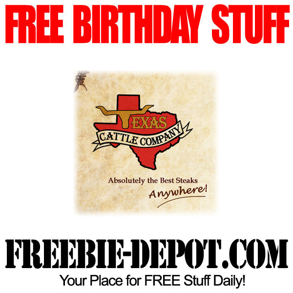 Free-Birthday-Texas-Cattle-Company
