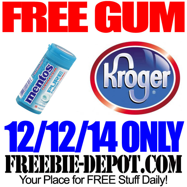 Free Gum at Kroger