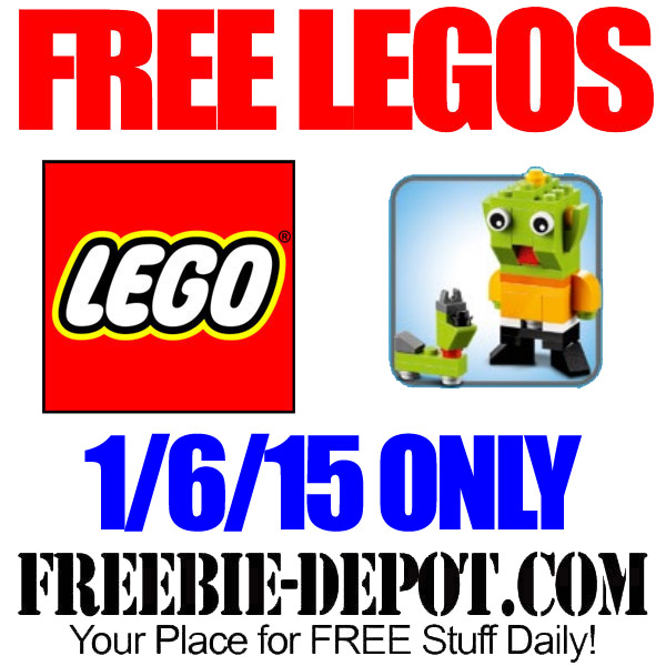Free-Lego-Alien