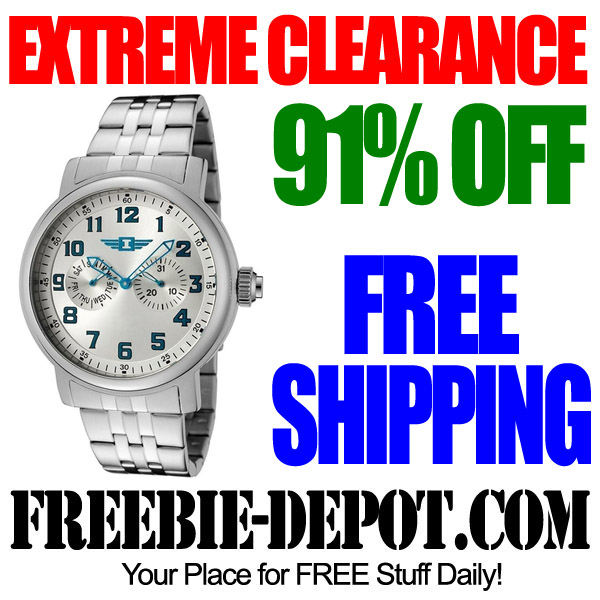 Extreme Clearance Invicta Watch