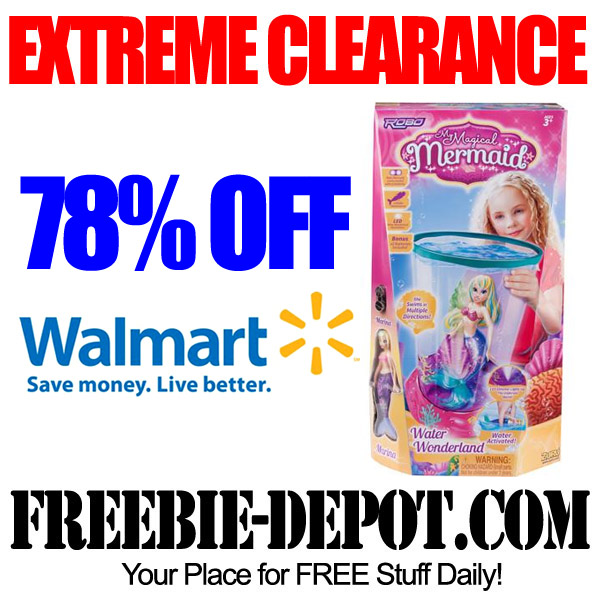 Extreme Clearance Mermaid at Walmart