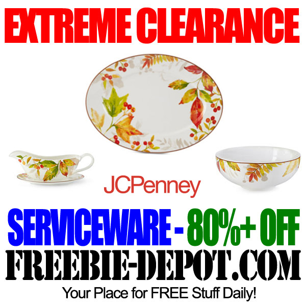 Extreme Clearance on Serviceware at JCP