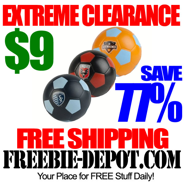 Extreme Clearance Soccer Ball Sale