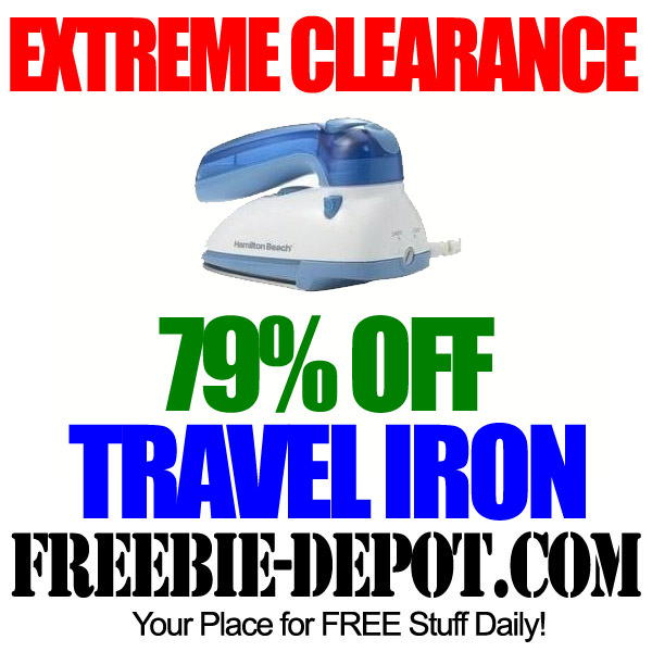 Extreme Clearance Travel Iron