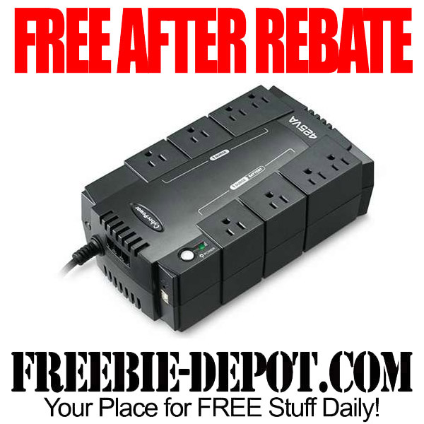 Free After Rebate Backup Power