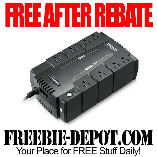 Free After Rebate Backup Power