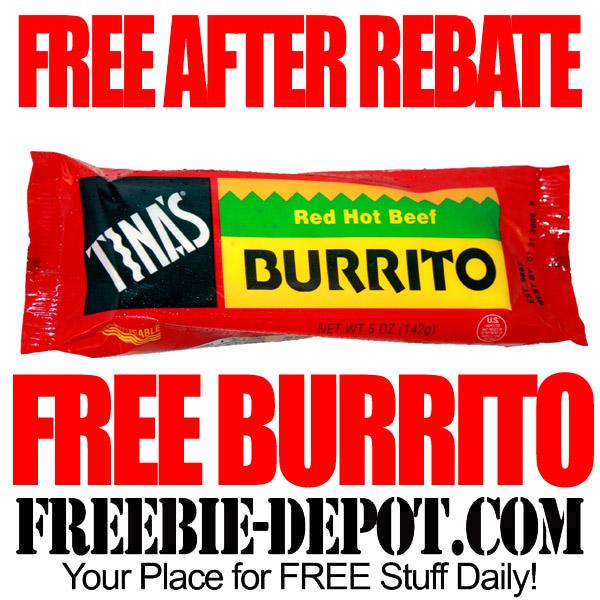 Free After Rebate Burrito
