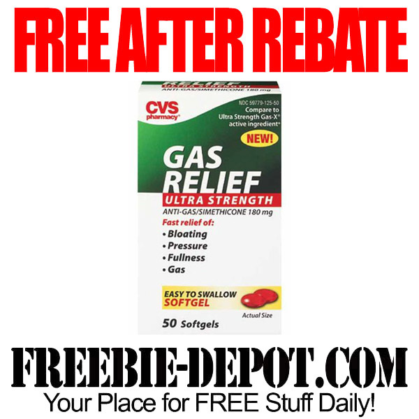 Free After Rebate Gas Relief