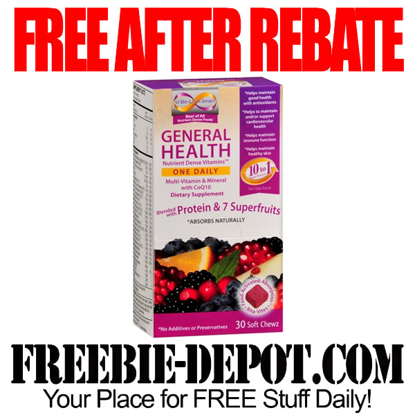 Free After Rebate Dietary Supplements