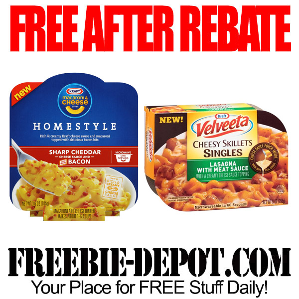 Free-After-Rebate-Kraft-Dinner