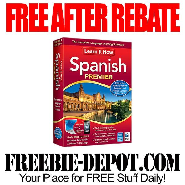 FREE Spanish Language CDs After Rebate