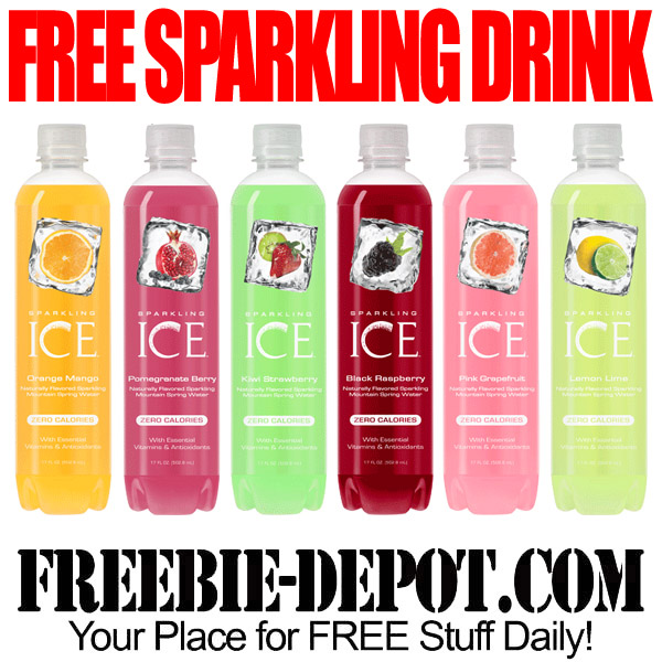 Free After Rebate Bottled Sparkling Drink