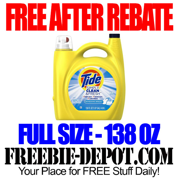 Free Tide at Walmart After Rebate