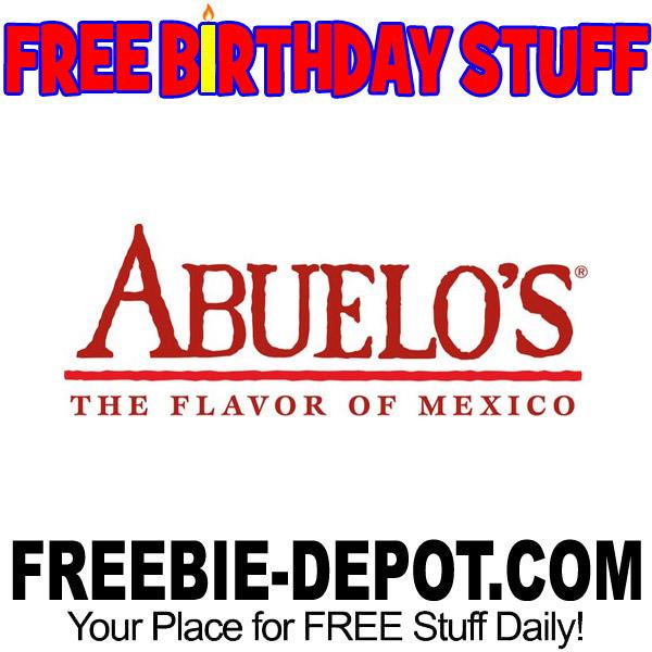 BIRTHDAY FREEBIE – Abuelo's Mexican Restaurant