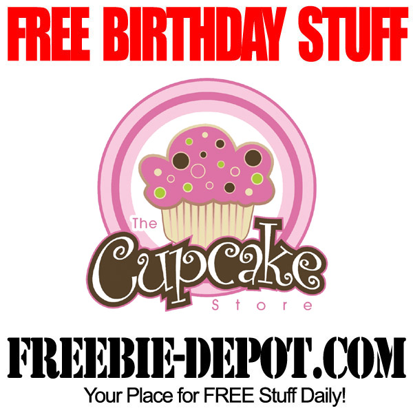 Free Birthday at The Cupcake Store