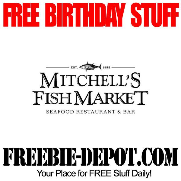 Free Birthday Sweets and Treats