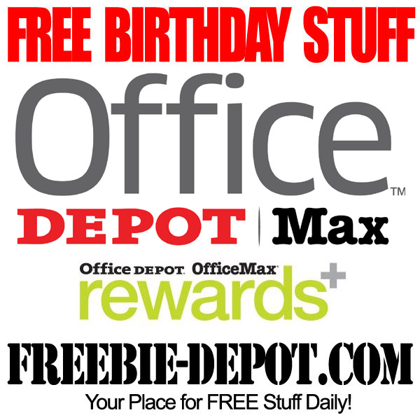 Free Birthday Office Products