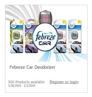 Free Febreze Car Freshener