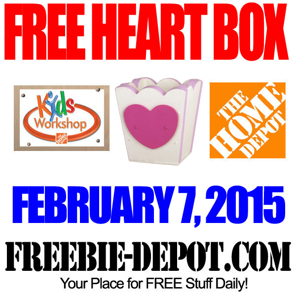 Free Heart Box for Valentine Day
