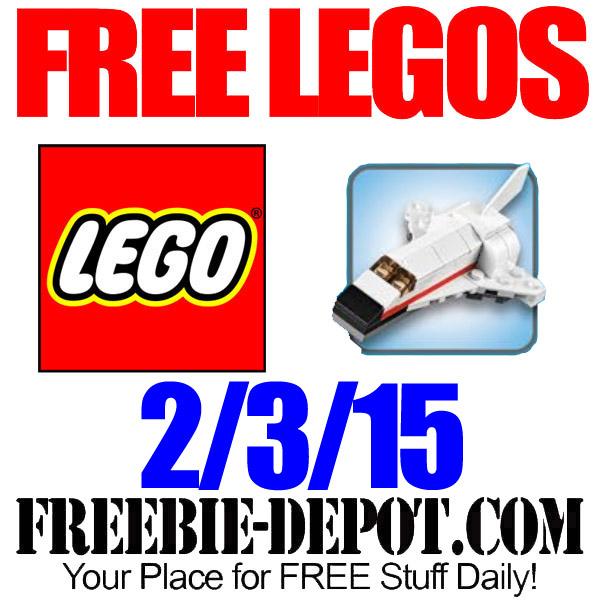 Free Lego Space Shuttle