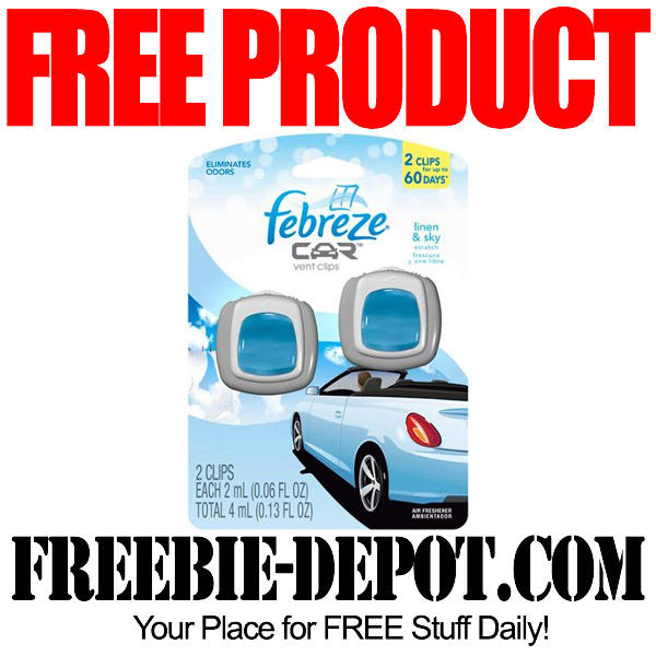 Free Product Febreze Car