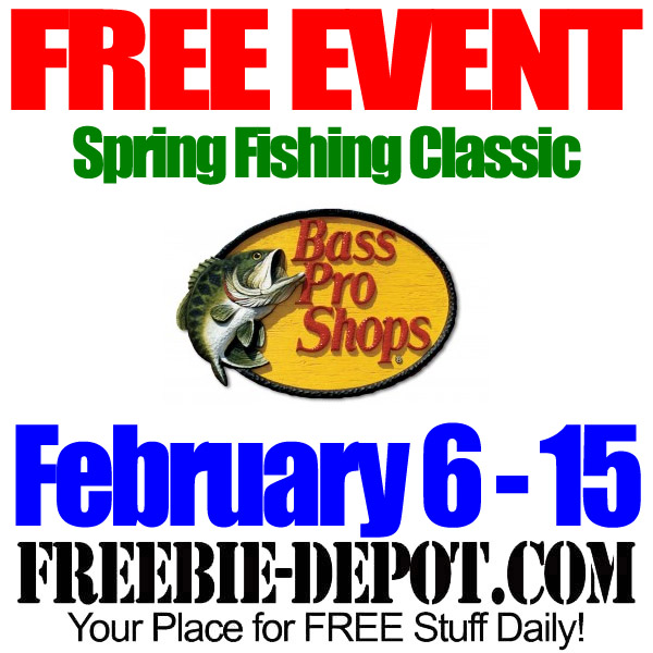 Free Spring Fishing Event at Bass Pro Shops