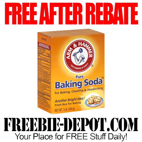 Free After Rebate Box of Baking Soda