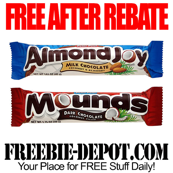 Free After Rebate Mounds Chocolate Candy Bar