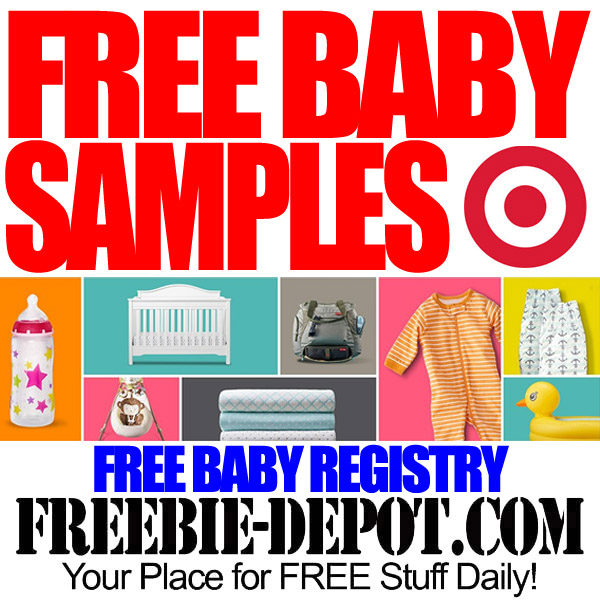 Home Depot Wedding Gift Registry: FREE Baby Samples At Target When You Register For FREE