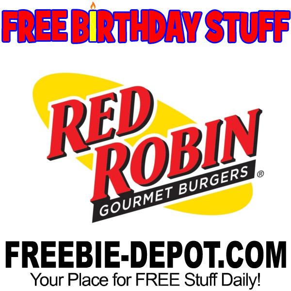 Red Robin Birthday Cake