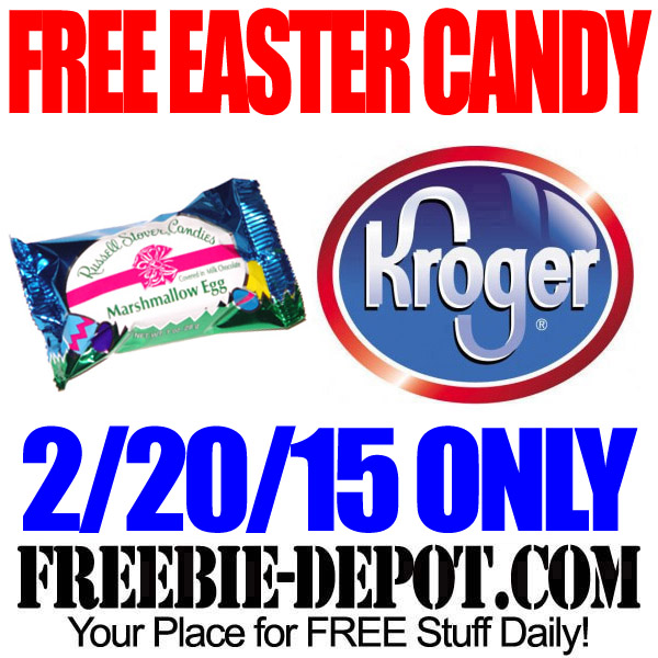 Free Chocolate Candy Egg from Kroger