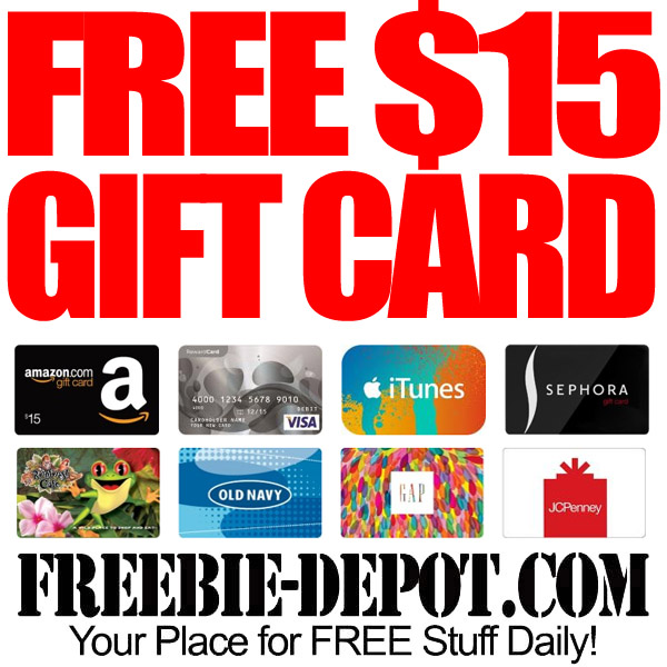 FREE Gift Card from Sephora
