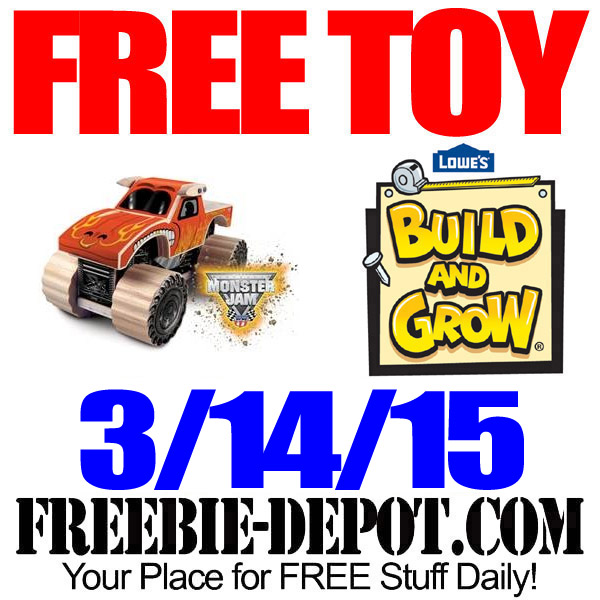 Free Lowes Toy Truck