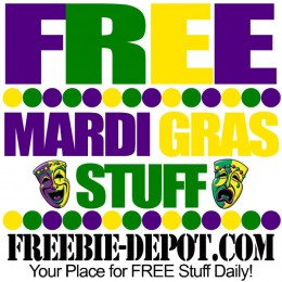 FREE Mardi Gras Stuff 2016 – Mardi Gras Freebies – FREE Stuff for Fat Tuesday