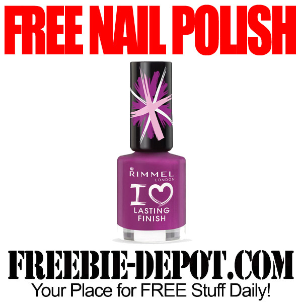 Free Nail Polish Rimmel for Feedback